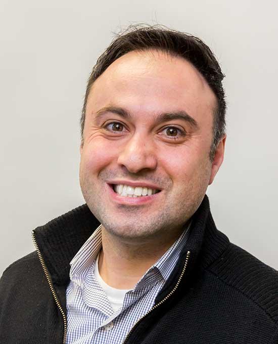 Profile shot of Mohammad Rahbari