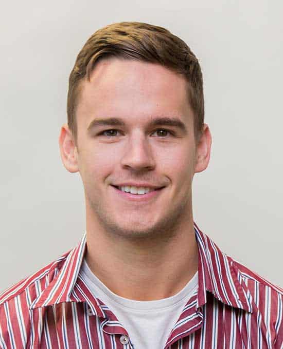 Profile shot of Andrew Van Bynen