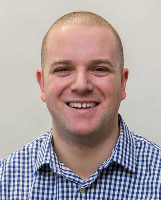 Profile shot of Dr. Cameron Graham