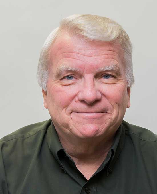 Profile shot of Ray McDonald